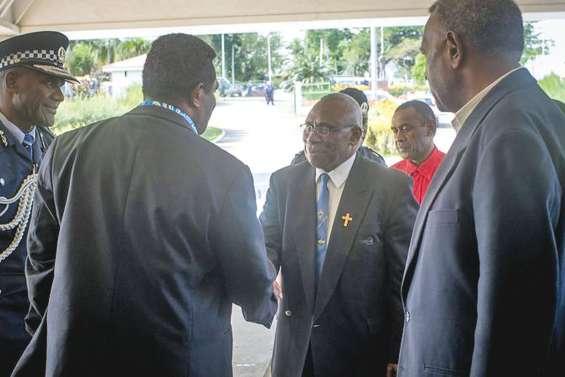 Tallis Obed Moses, élu président