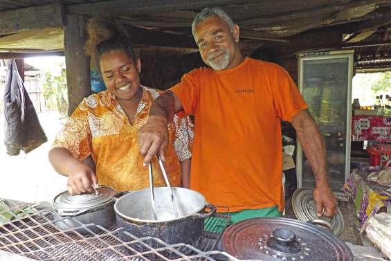 Jean Kaateu, des cuisines  du centre Igésa à l'Aventure