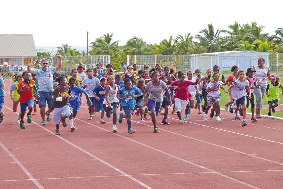 Plus de 300 enfants dans les starting-blocks