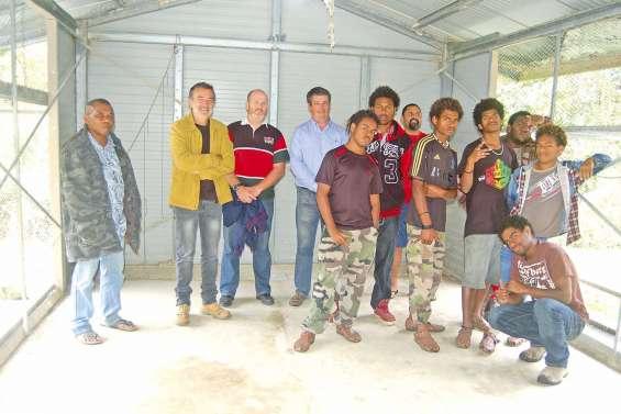 Des élèves contribuent  au développement local