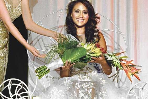 Lévina, Miss Calédonie, fait  la « fierté de la commune »