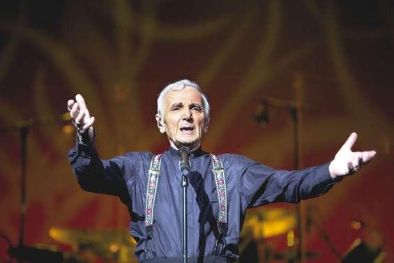 Aznavour : «C'est mon bonheur de partir en tournée à travers le monde»