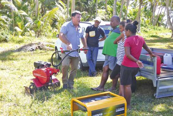 Les agriculteurs de Lifou  cultivent leurs savoirs