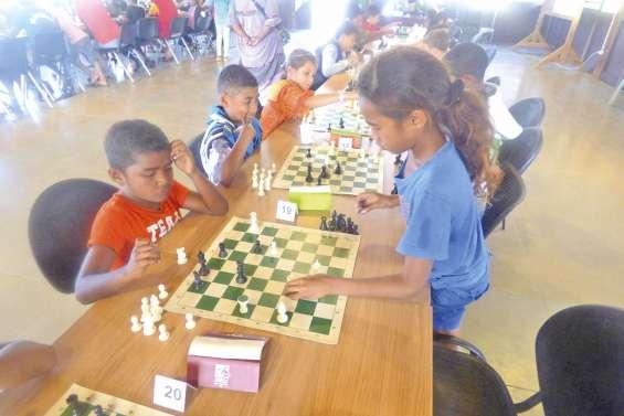 Les échecs ont du succès auprès des enfants