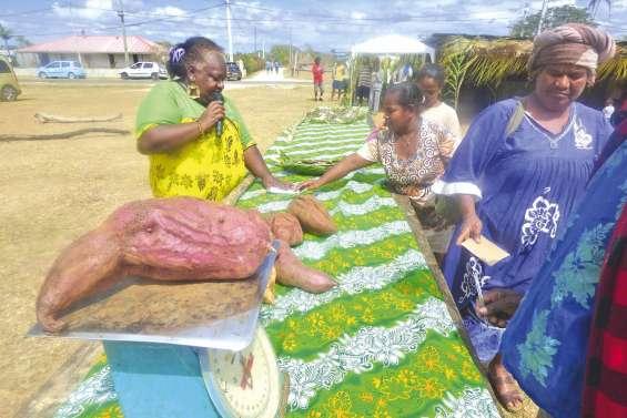 Une fête de la patate toujours  aussi gratinée à Hnathalo