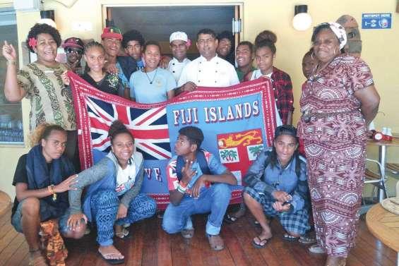Les élèves de Canala prolongent  leur séjour à Fidji