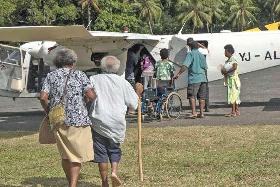 Tous les habitants d'Ambaé évacués