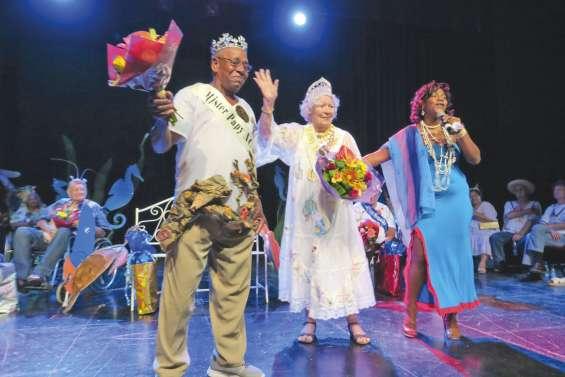 Les seniors ont leur roi et leur reine