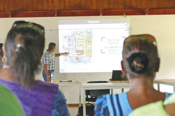 La future Maison de la santé présentée au public
