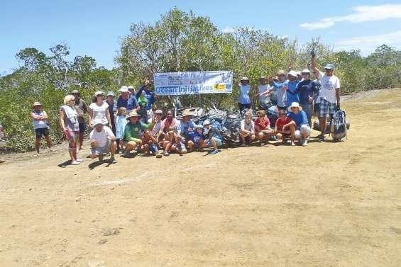 Grande opération de nettoyage de l'îlot Lebris