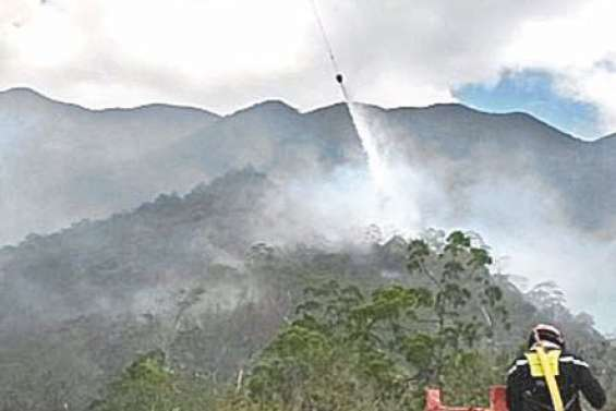 Le feu de Païta déclaré éteint