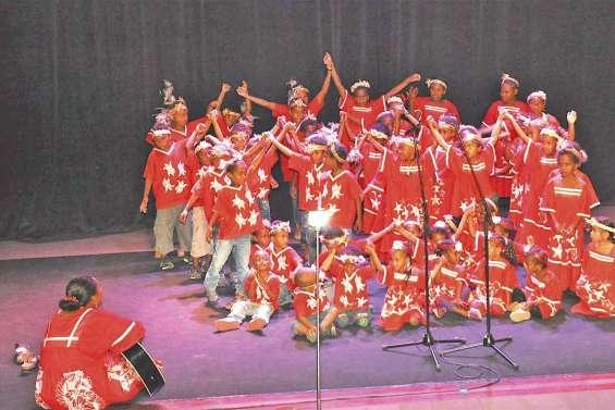Cent cinquante enfants ont donné de la voix au Carrefour des arts