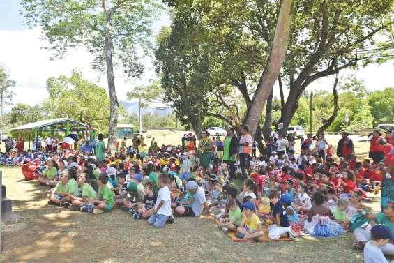 700 jeunes en démonstration  à la fête de la Caisse des écoles