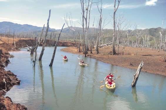 La rivière Bleue en mal de kayakistes