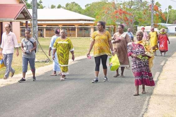 Une marche contre les violences faites aux femmes