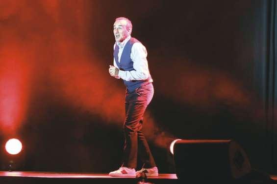 Elie Semoun et « sa bande » ont  plié de rire le public de l'Arène du Sud