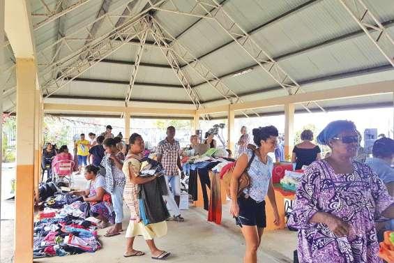 Une première journée de réduction des déchets à Koné