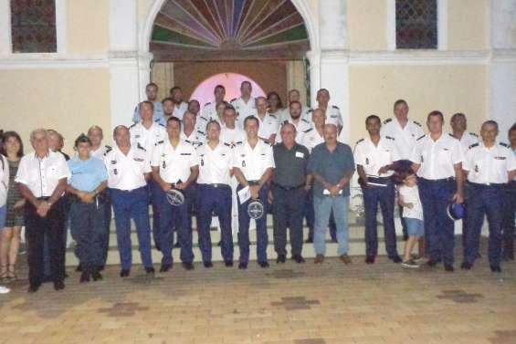 Les gendarmes ont fêté leur sainte patronne