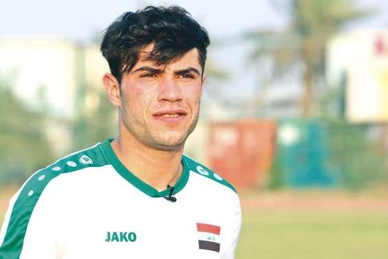Mohammed Dawood, grand espoir du football irakien et mondial