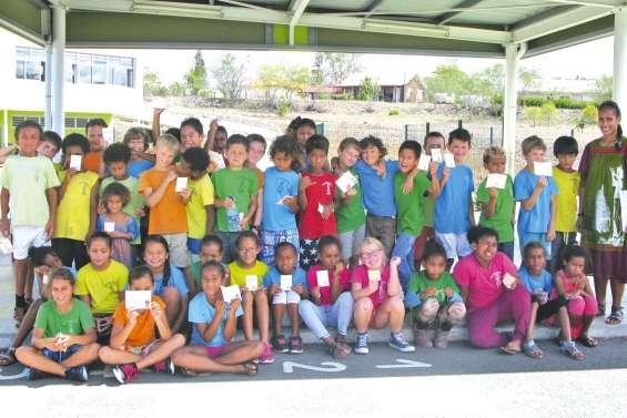 Les écoliers de Téari fiers de leur permis