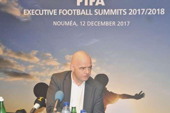 Gianni Infantino : « Mieux aider le football océanien »