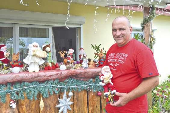 Une famille de Samanéa partage sa maison avec le père Noël