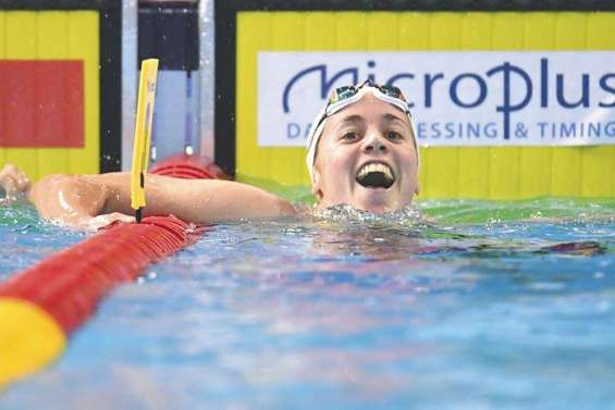 Natation : Lara Grangeon remporte l'or sur 1500 m aux France