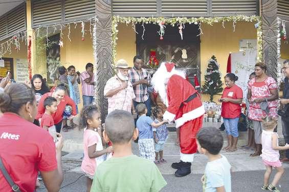 Un samedi avec le père Noël