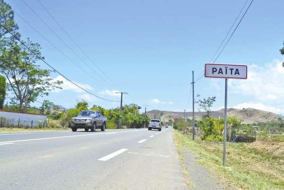 L'entrée du village désormais  signalée sur la RT1