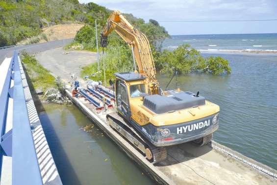 Un chantier délicat  à grand Kokingone
