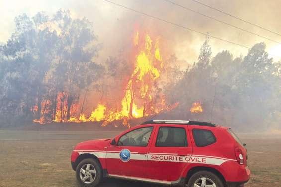80 évacuations et 1 100 hectares brûlés au Mont-Dore