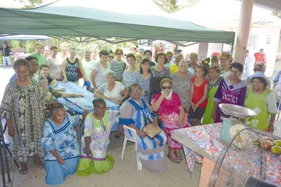 Vingt ans d'entraide  entre les femmes de Bourail