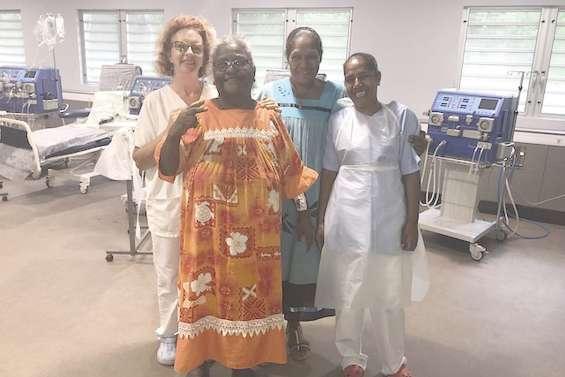 Une nouvelle unité d'hémodialyse vient d'ouvrir