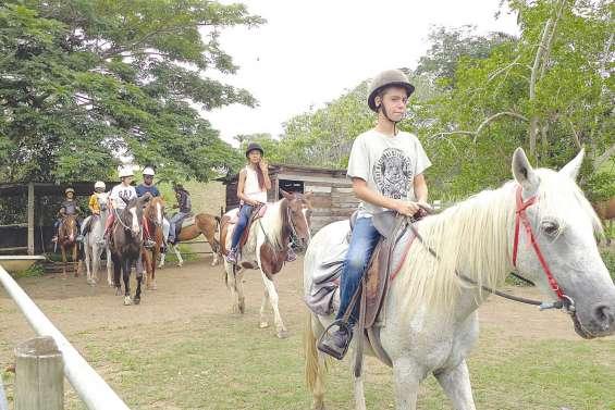 A cheval sur les vacances