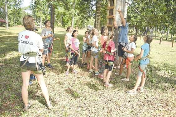 Les Kaoris : le camp en pleine nature