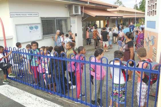 Des effectifs scolaires  toujours en hausse à La Foa