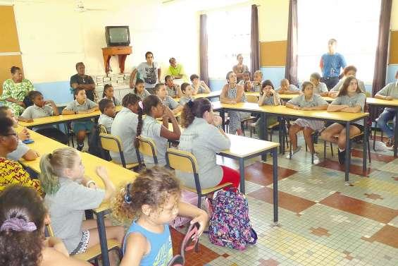 L'activité a repris dans les écoles  et les collèges de La Foa