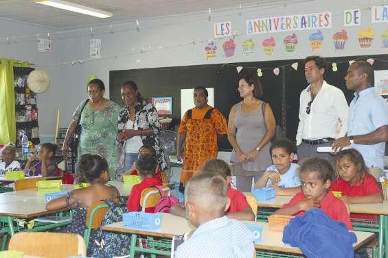 Une rentrée des classes sous l'œil des institutions à Yaté