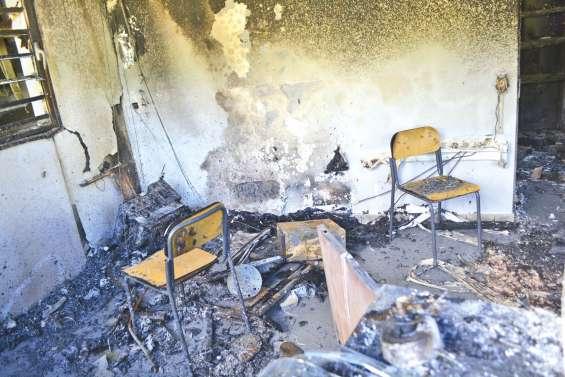 Incendie à Père-Guéneau,  la piste criminelle privilégiée