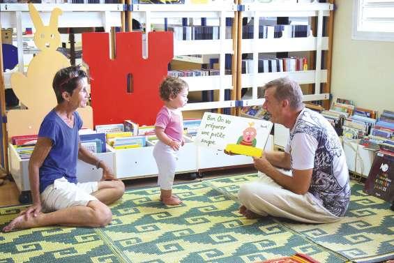 Les bébés et la lecture, c'est  demain à la médiathèque
