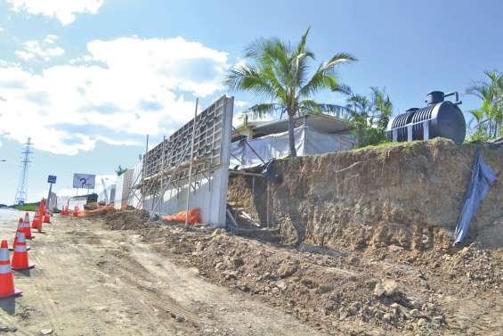 Dernière reconstruction  en cours avenue Becquerel