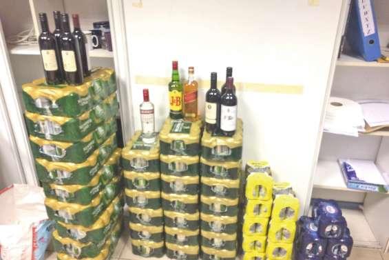 600 bières saisies dans les nakamals