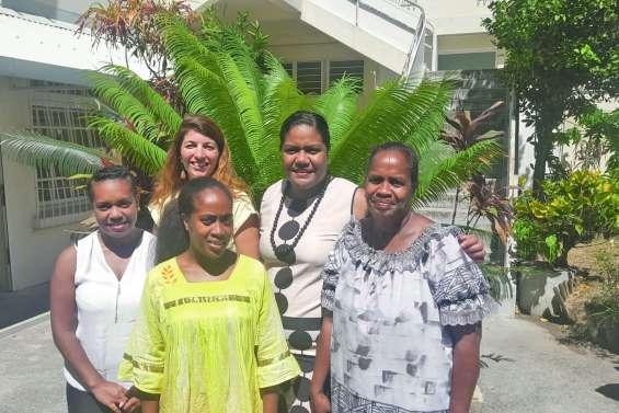 Trois étudiantes des Loyauté en Nouvelle-Zélande