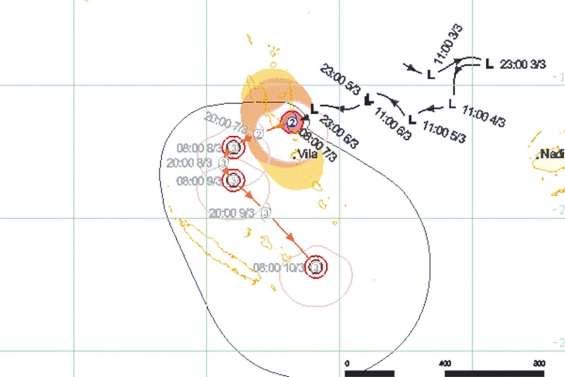 L'alerte cyclonique déclenchée pour Hola