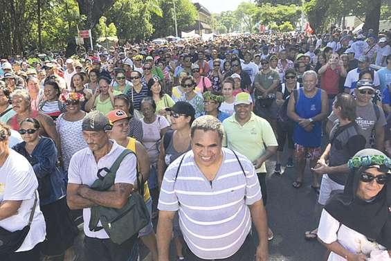 Dans la rue contre la réforme des retraites