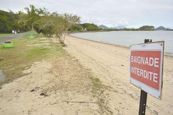 La plage de Nouré fermée  à cause des pluies de Hola