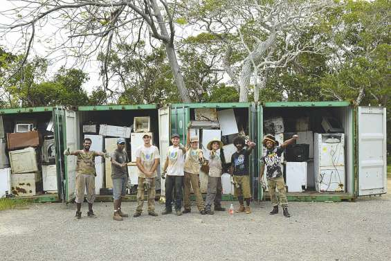 Dix tonnes de déchets en moins à Kunié