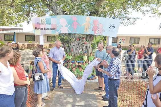 L'école maternelle prend le nom de Marthe-Bourgine