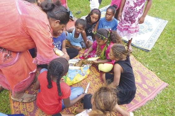 Quatre écoles de Lifou  ont célébré la nouvelle igname