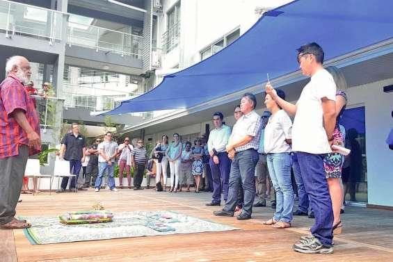 Le Pacifik Appartel inauguré à Koné
